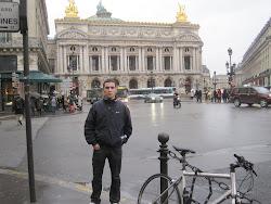 Carlos Pardo Núñez (alumno) desde el Palacio de la Ópera de París