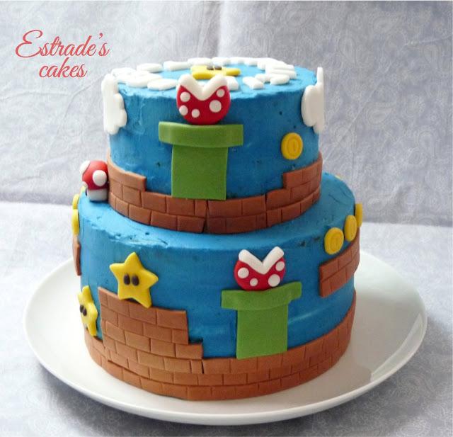 Tarta Mario Bros - 3