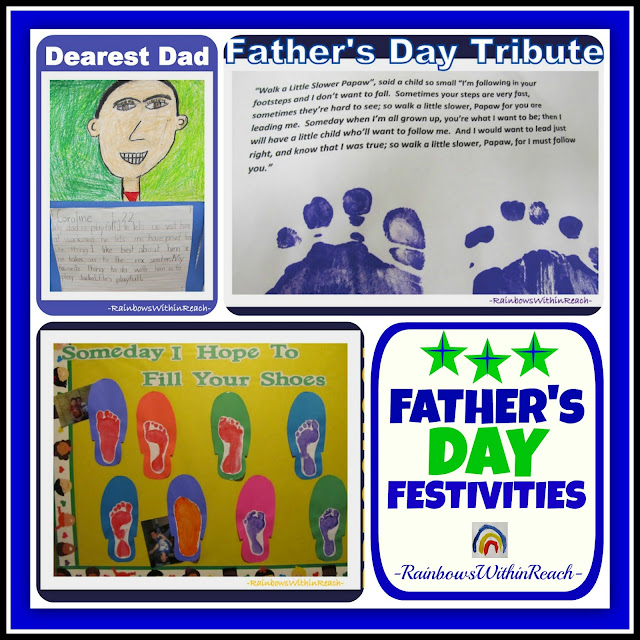 photo of: Father's Day: Poem, Writings and Bulletin Board via RainbowsWithinReach
