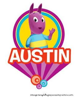 Austin de Backyardigans para imprimir