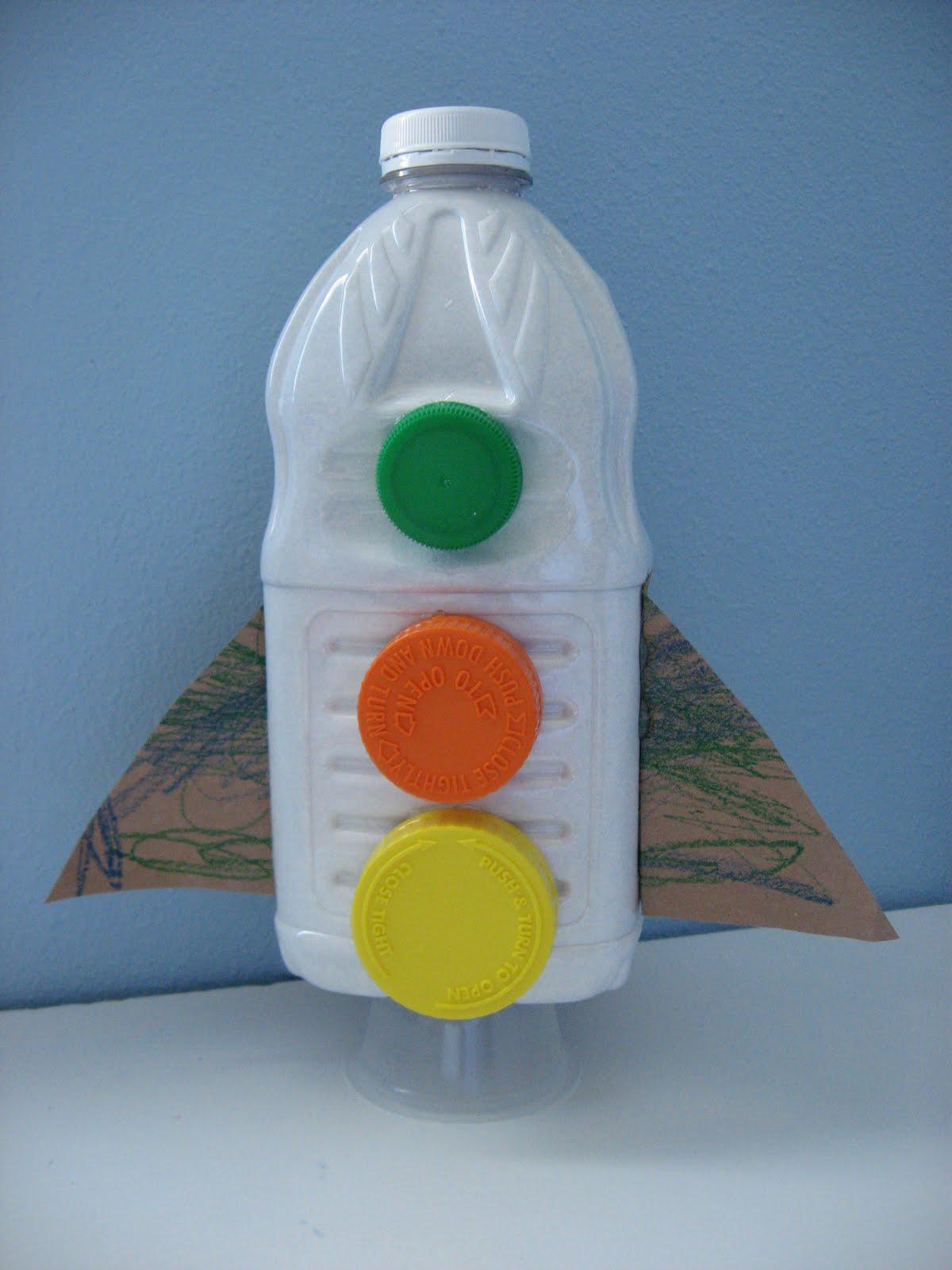 Схемы ракет с пластиковых бутылок