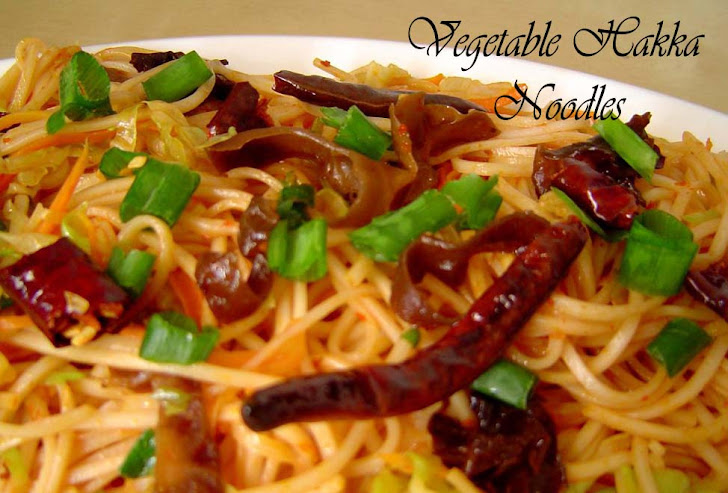 Vegetable Hakka Noodle