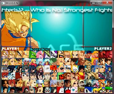 超級大亂鬥格鬥遊戲,七龍珠、拳皇、火影忍者、超級瑪莉、麥當勞叔叔超過130個人物!