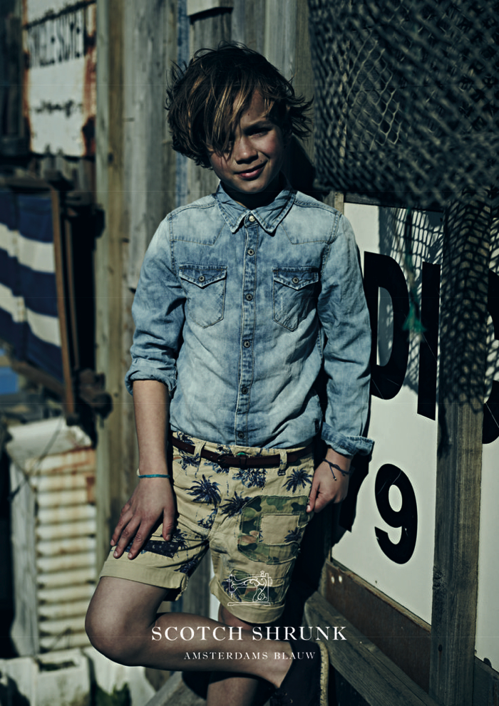 cool boys fashion Scotch Shrunk