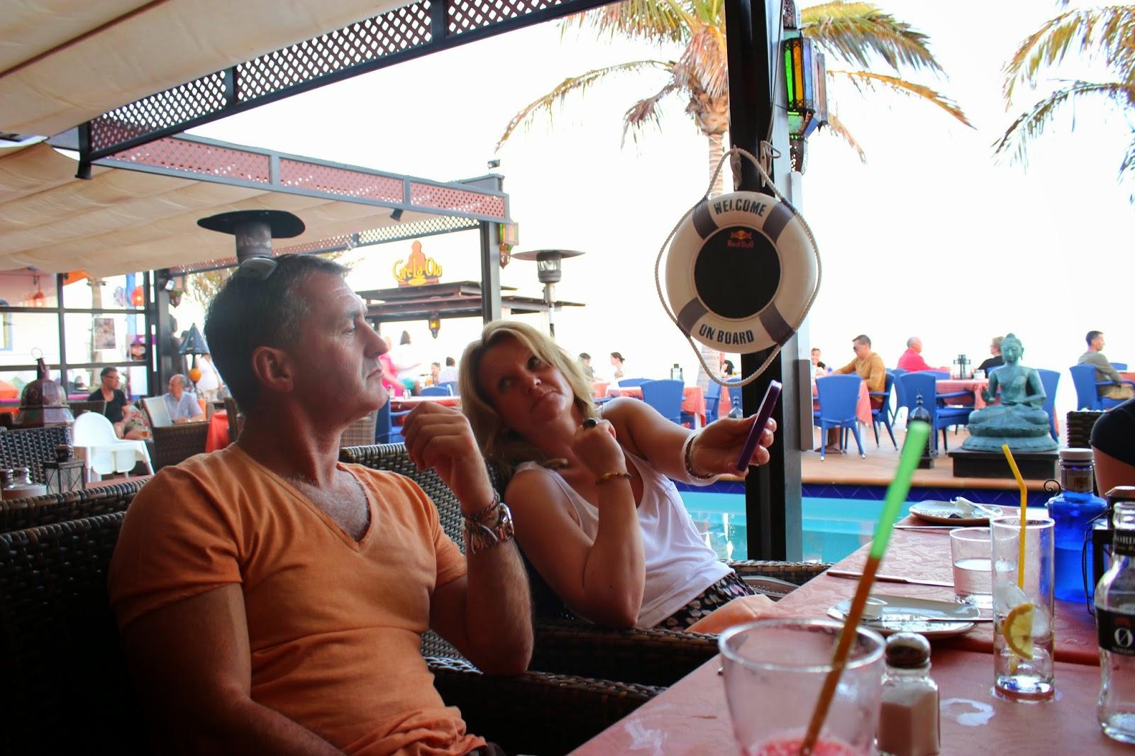 lifestyle, eating & drinking, lanzarote, holiday, beach, sunshine, summer, canary islands, swimwear, mens fashion, That Guy Luke, That Guy Lukey, men, dinner, cafe la ola, puerto del carmen, p20, ted baker flip flops,