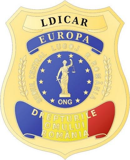 L.D.I.C.A.R.-EUROPA Liga Dreptatii Impotriva Coruptiei si Abuzurilor din Romania-Europa