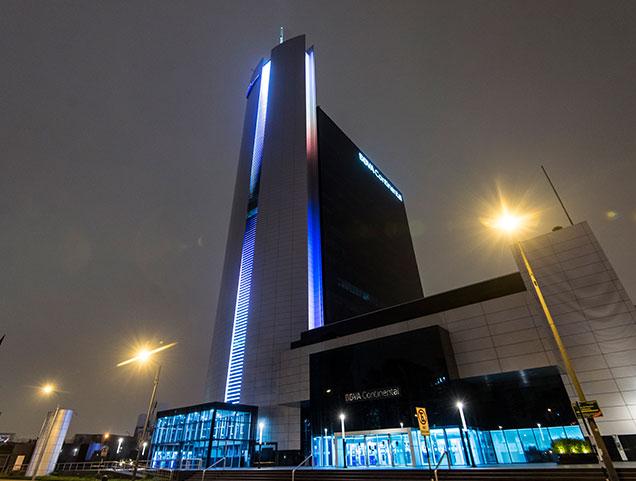 Edificios del per banco bbva continental for Bbva oficina central