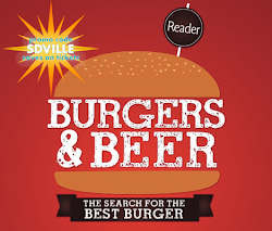 Promo code SDVILLE saves $5 per ticket to San Diego Reader's Burgers & Beer Festival