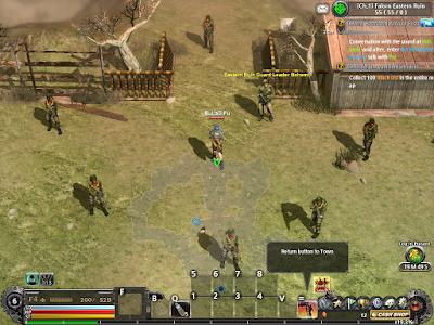 Metal Reaper Online - Branch Select