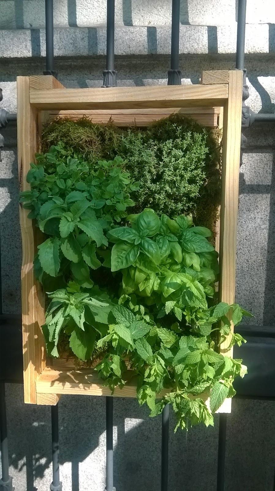 jardin vertical sencillo