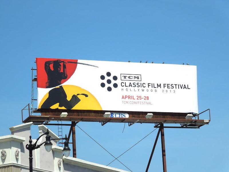 TCM Classic Film Festival billboard