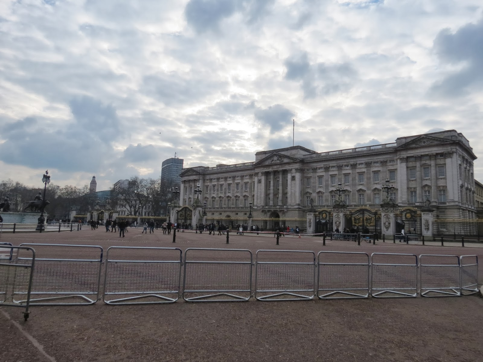 Buckingham palace winter