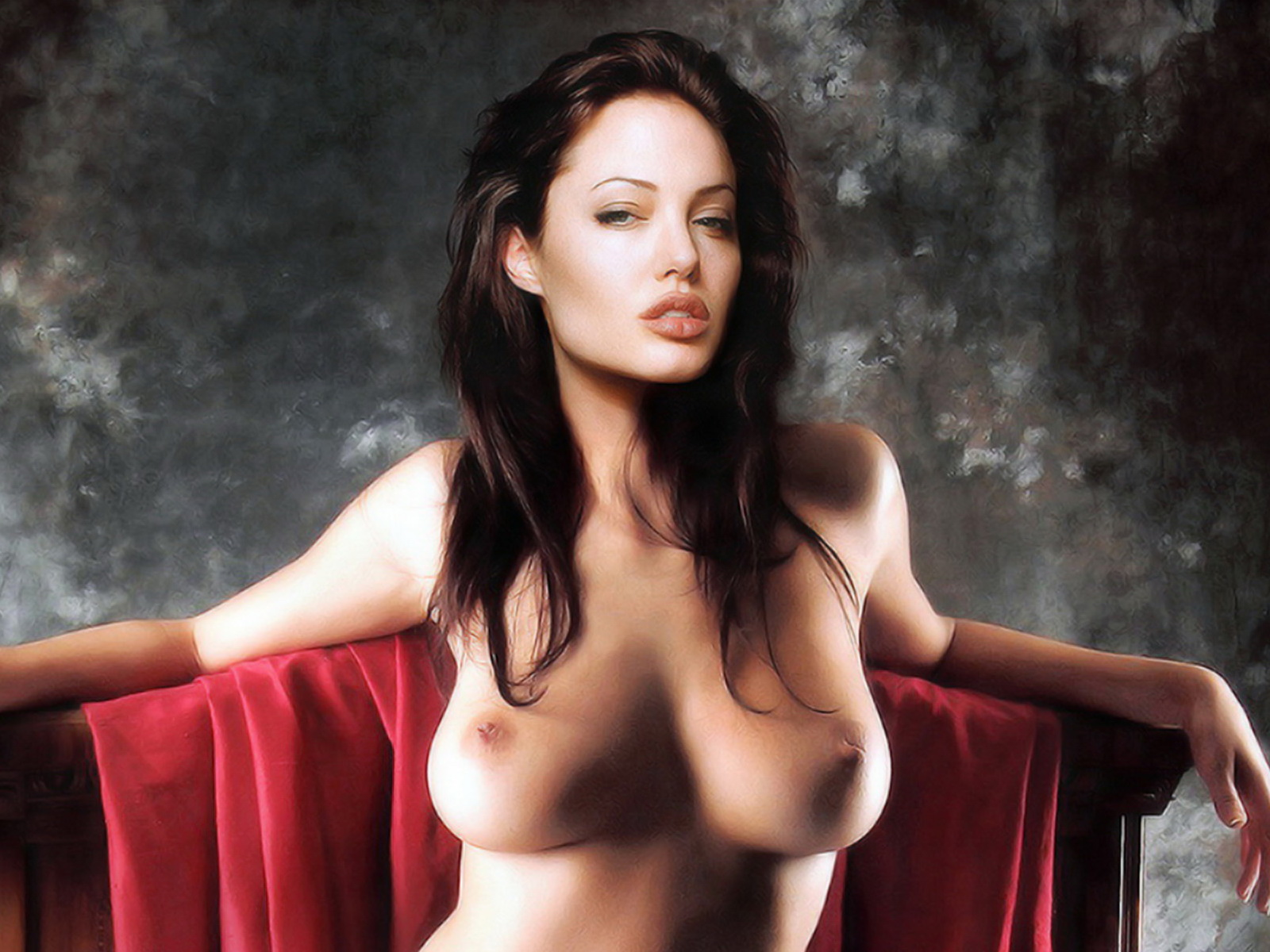 Angelina Jolie Topless Photo Expected To Fetch 50000 At Auction