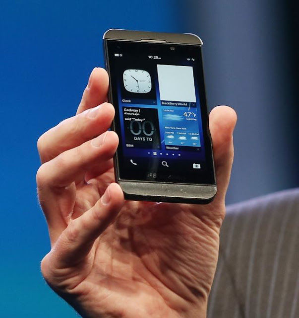 Blackberry launches Blackberry Z10