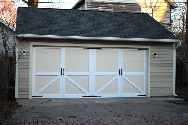 the new garage that looks like an old barn burritos and