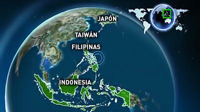 ALERTA DE TSUNAMI TRAS TERREMOTO DE 7,9 EN FILIPINAS, 31 DE AGOSTO 2012
