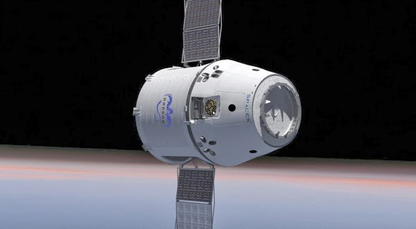 Kapsul Dragon Armada Astronot Pada Masa Mendatang