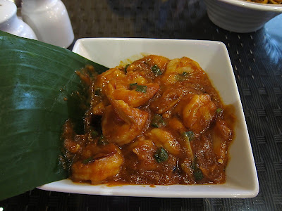 Singapore Chili Prawns at Malaka Street
