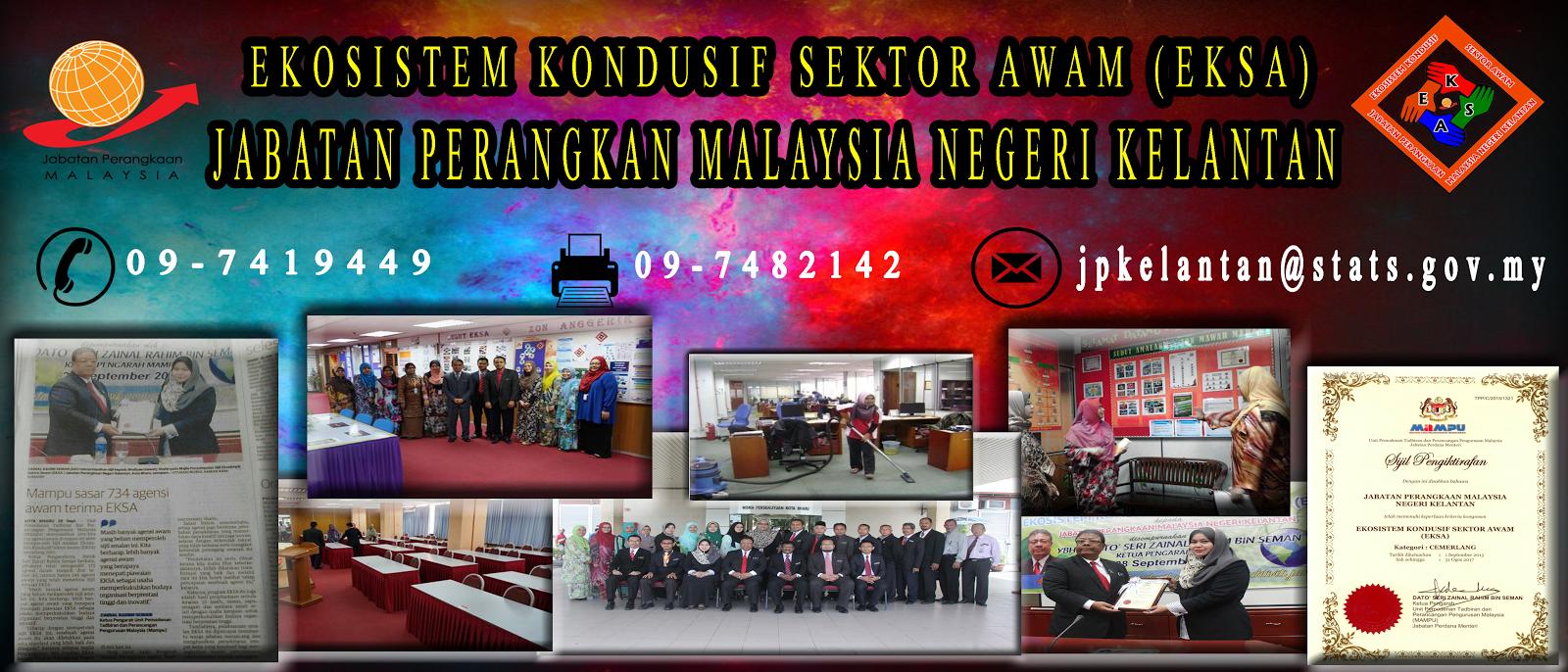 EKSA Jabatan Perangkaan Malaysia Negeri Kelantan
