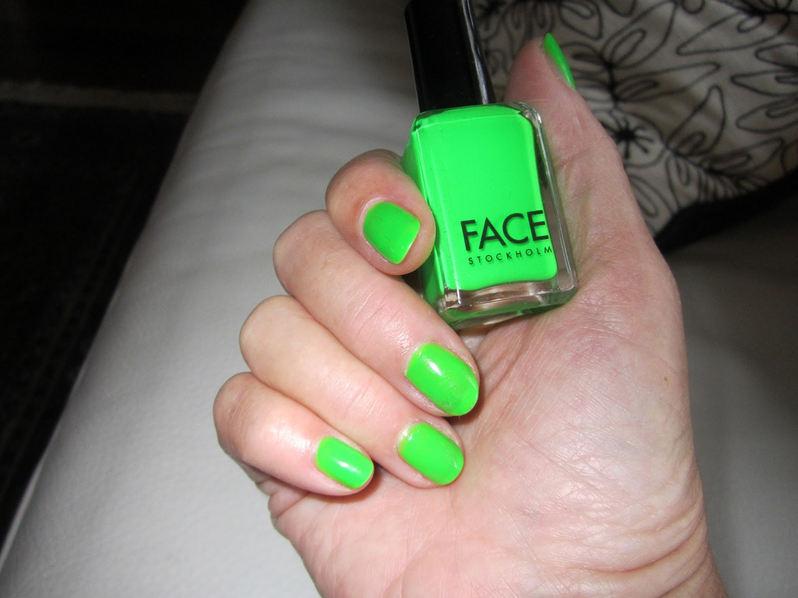 Whom You Know : Vivid Grasshopper Nail Polish by Face Stockholm ...