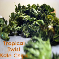 Recipe: Tropical twist kale chips