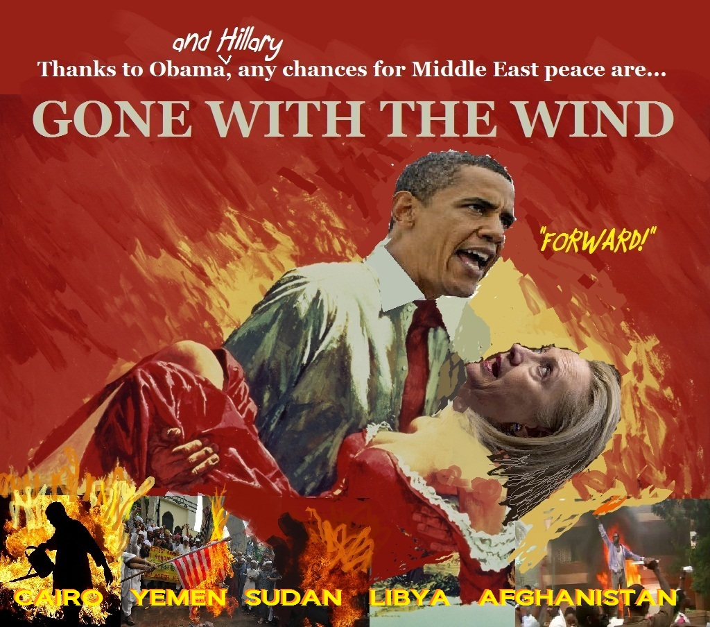 Image result for obama gone with the wind