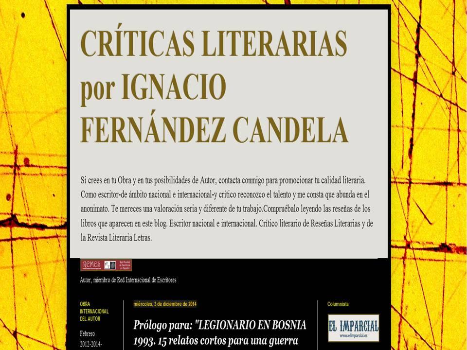 Crítico Literario.