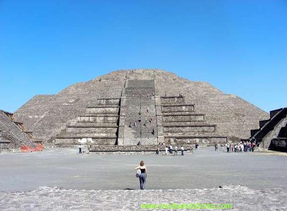 Wow ! Komplek Para Dewa Ada Di Meksiko