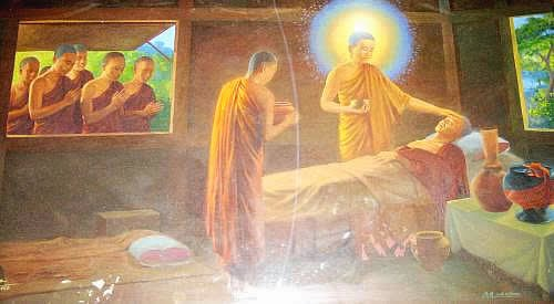 an analysis of siddhartha gautama life leading up to his awakening Character analysis siddhartha kamala he reflects that he has left his former life behind him and has now he feels an awakening and asserts that he will no.