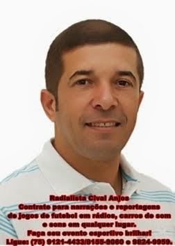 Narrador esportivo Cival Anjos