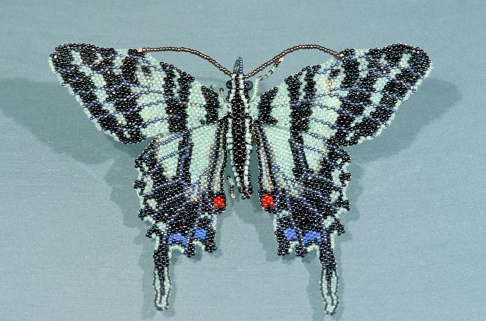 бисероплетение бабочки из бисера.