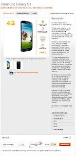 Samsung Galaxy s 4 Comprar en Internet