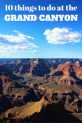 Travel the World: 10 fun things to do at the Grand Canyon during an Arizona vacation.