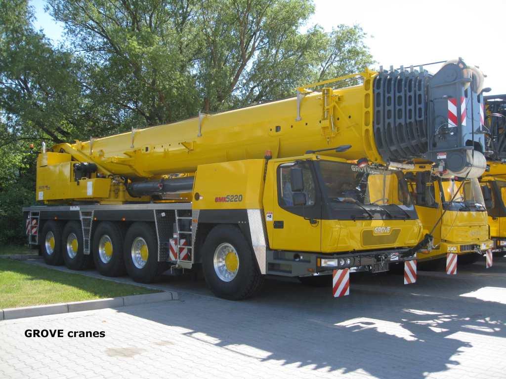 Grove cranes grove gmk 5220 220t class at crane for Crane grove