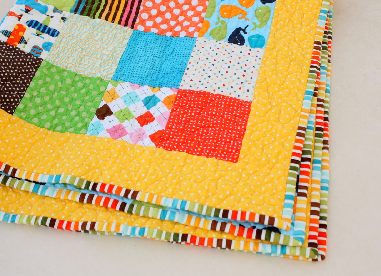 Bright new quilt + baby quilt kits - Diary of a Quilter - a quilt blog : bright quilts - Adamdwight.com