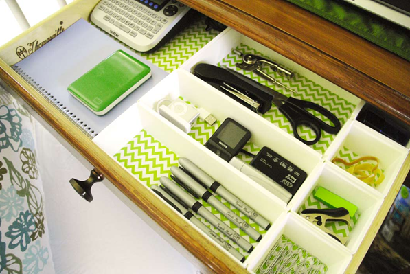 Brilliant Expanding Acrylic Drawer Organizer  The Container Store