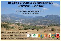 22 y 23 de Septiembre 17   III Ultra Travesía Gibraltar-Ubrique