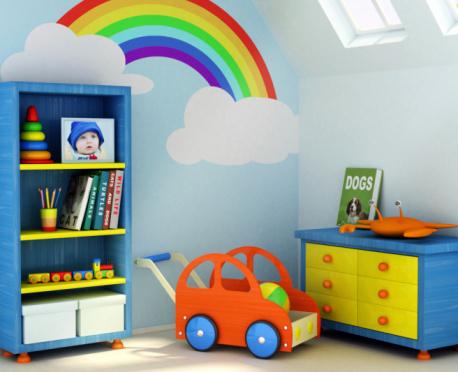 Habitaciones con estilo c mo pintar el dormitorio de los - Colores habitacion nino ...