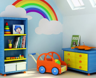 pintar la habitación de niños