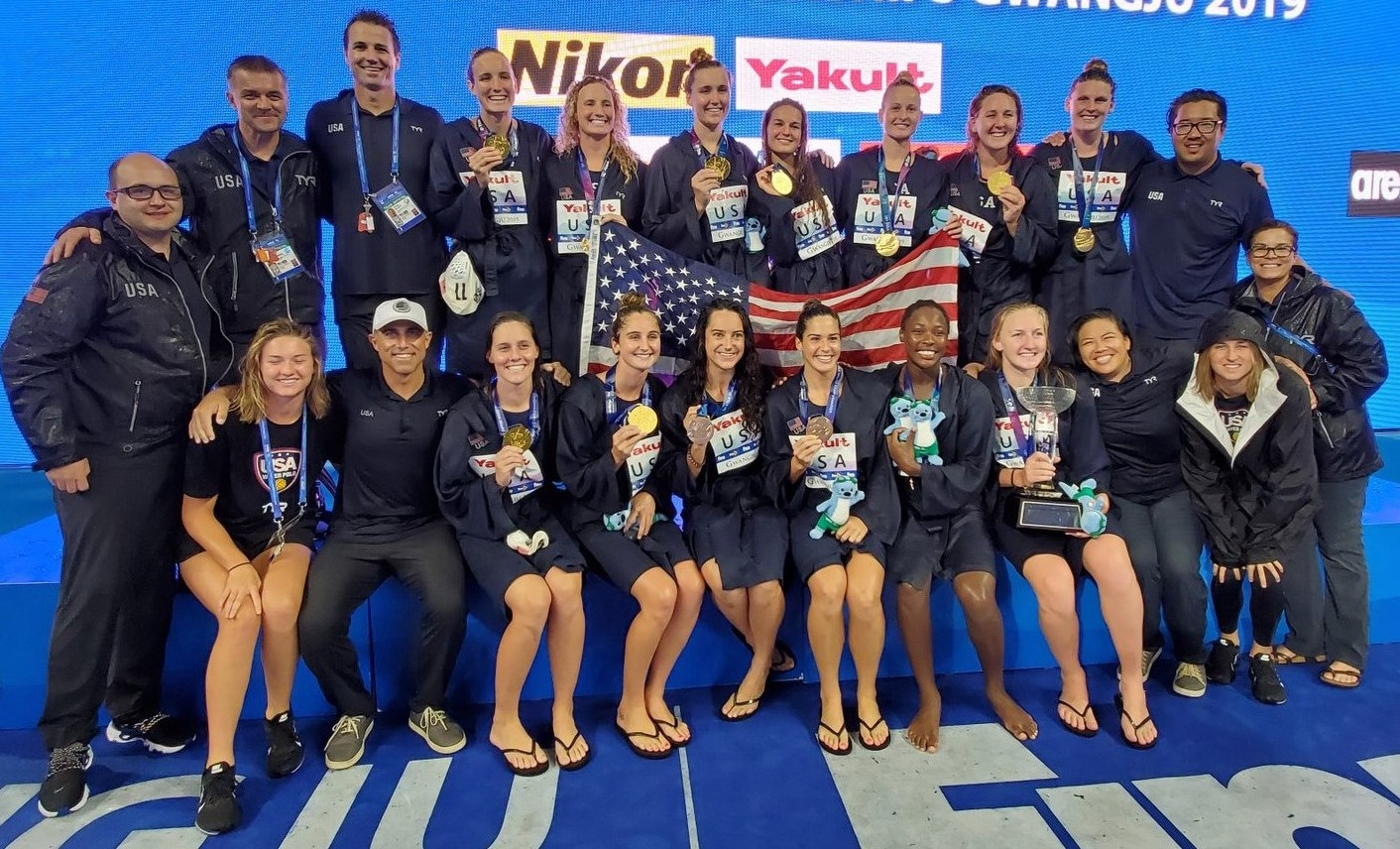 USA - World Champion Women, Gwangju 2019