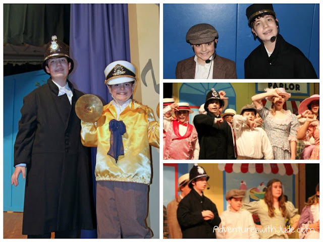 Luke & Matthew in The Music Man Jr.