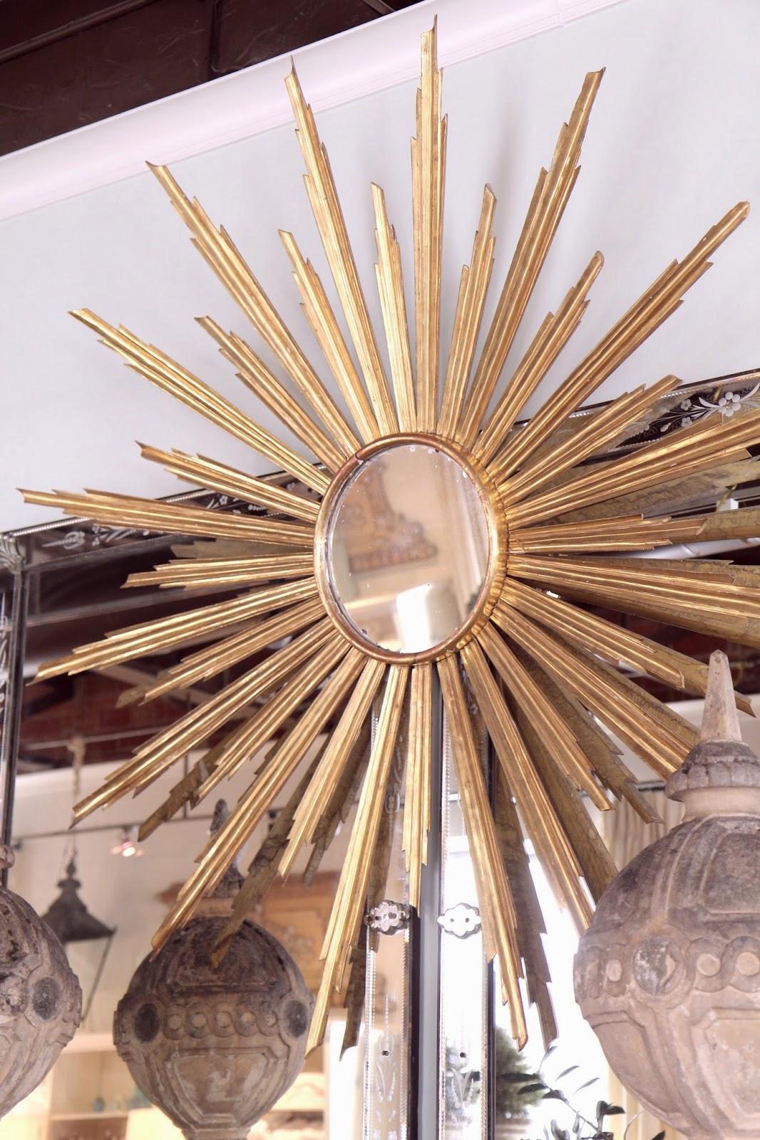 Sunburst Mirror for Home Decor: Lisa Luby Ryan Vintage Living