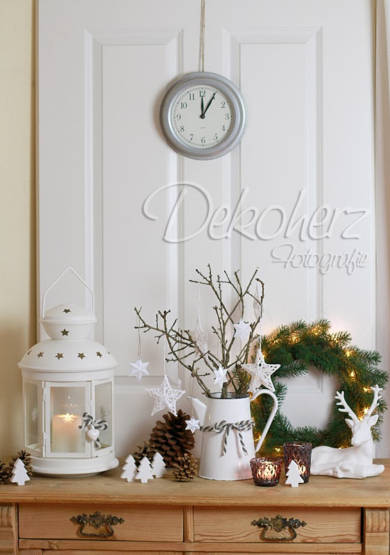 Kommode Weihnachtlich Dekorieren : Das Fensterbrettl is auch weihnachtlich  aber da kann ich Euch nicht