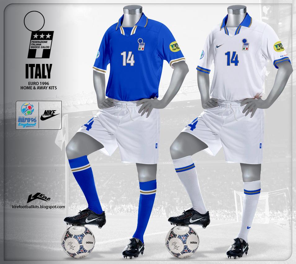 Italy kits euro 1996 mr sport for Italian kit