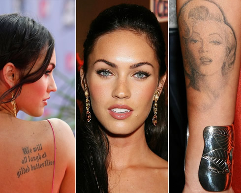 Megan Foxs Tattoos