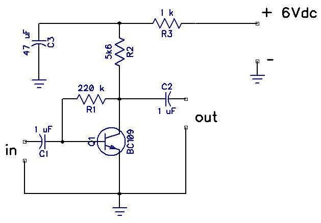 Rangkaian preamp mic 1 transistor gambar rangkaian elektronika rangkaian preamp mic 1 transistor ccuart Image collections
