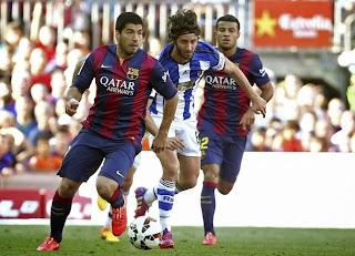 Results : Barcelona 2-0 Real Sociedad