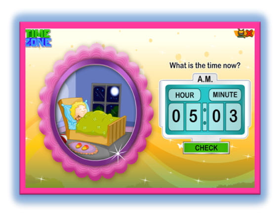 http://www.turtlediary.com/kindergarten-games/math-games/time-zone.html
