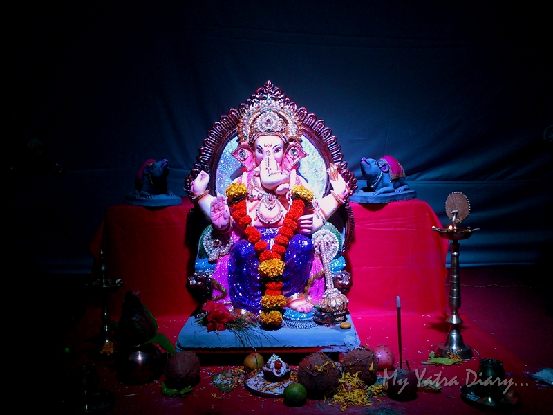 Eco friendly Lord Ganesha made of paper, Ganesh Pandal Hopping, Mumbai