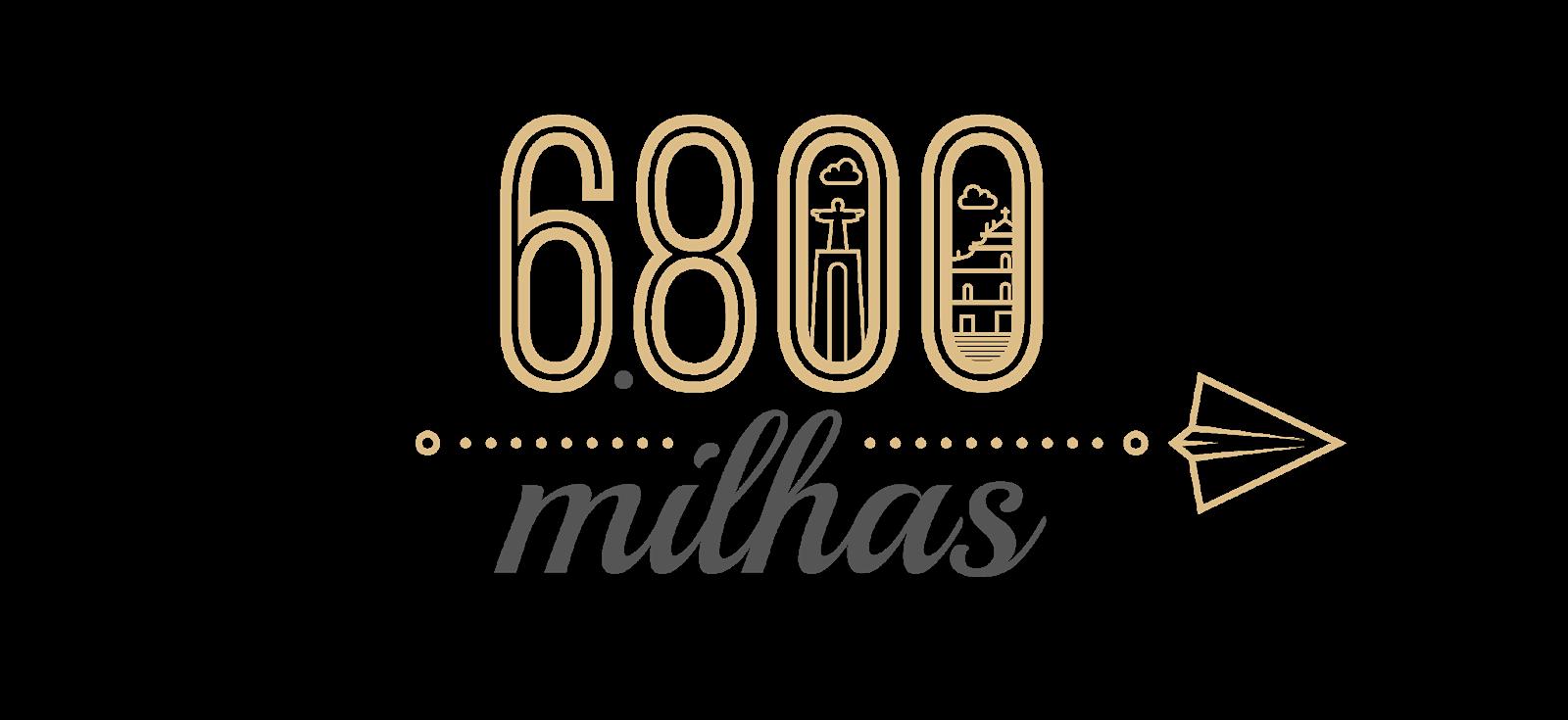 6800 milhas